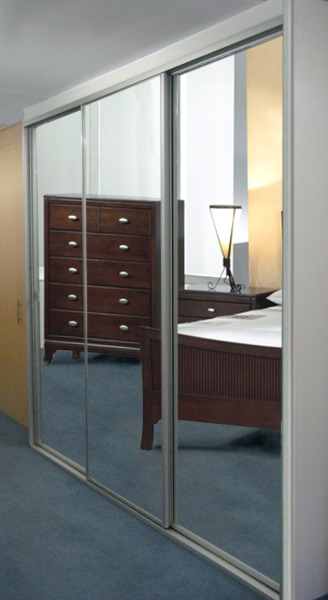 Mirror And Glass Wardrobe Doors