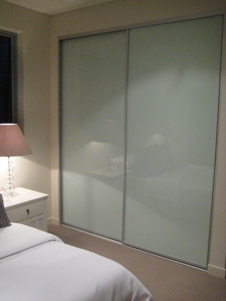 Mirror and glass wardrobe doors for Back door sliding door