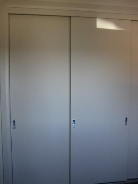 Painted Timber Wardrobe Doors